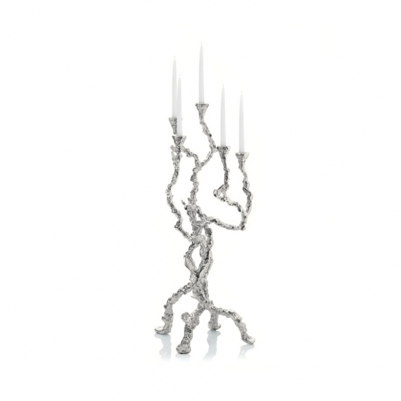 Sleepy Hollow Candelabra Nickelplate