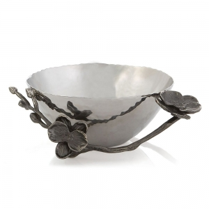 Black Orchid Nut Dish