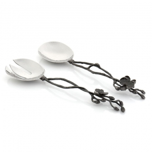 Black Orchid Serving Set