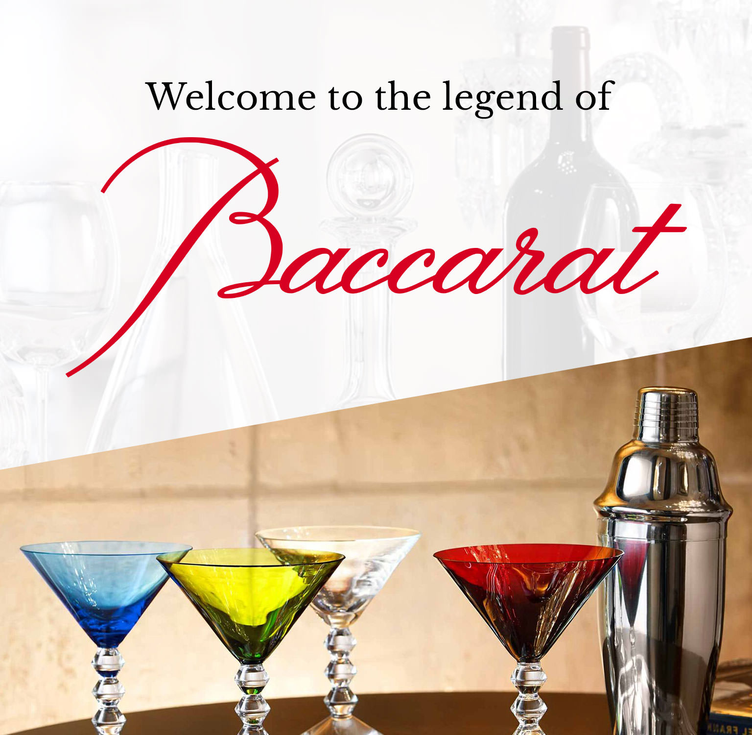 Welcome to the legend of Baccarat
