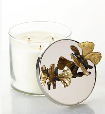 Michael Aram Butterfly Gingko Scented Candle